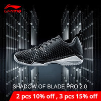 Li Ning Men SHADOW OF BLADE PRO 2.0 Badminton Shoes DYNAMIC SHELL BOUNSE+ LiNing li ning CLOUD Sport Shoes AYAN013 XYY090
