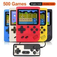 500 в 1 Ретро видео игровая консоль портативная игра портативная Карманная игровая консоль мини портативный плеер для детей подарок