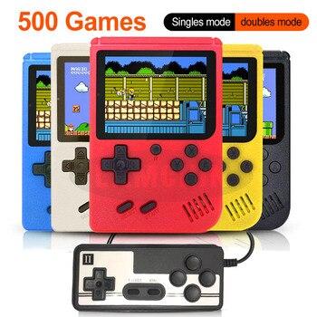 500 в 1 Ретро игровая консоль портативная Карманная игровая консоль мини портативный плеер для детей подарок