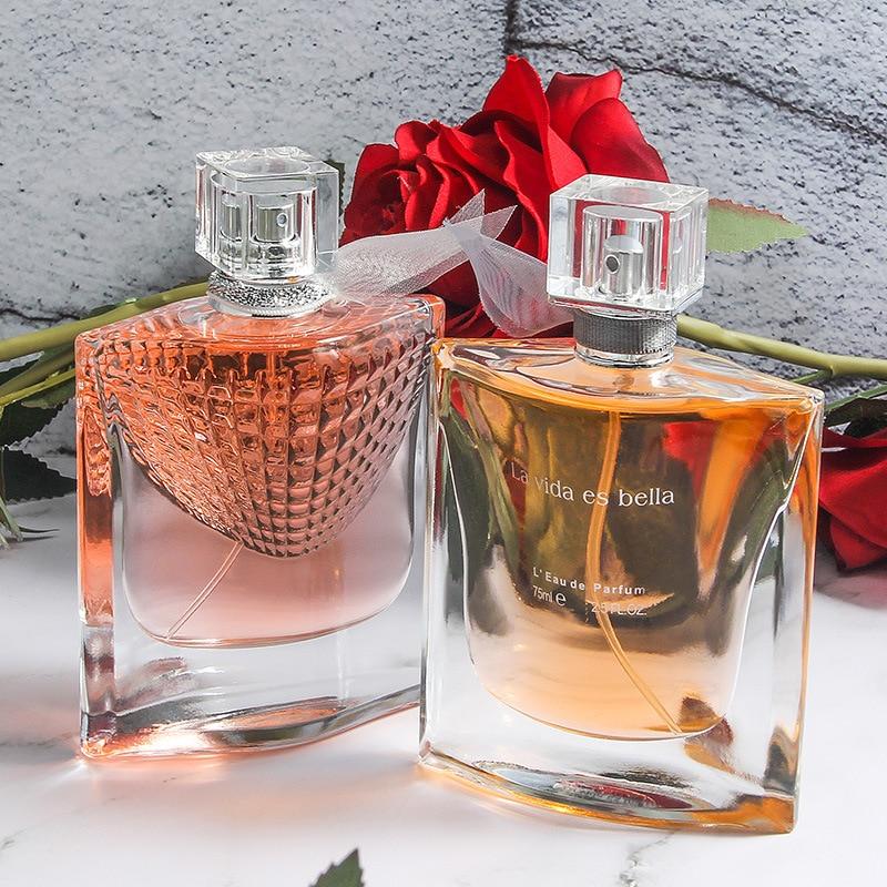 Hot Brand Original Perfume For Women 75ML Rose fragrance Long Lasting Perfumes Sexy Lady Parfum Glass Bottle Spray Deodorant 2