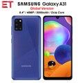 Глобальная версия Samsung Galaxy A31 A315G/DS мобильный телефон 6 ГБ ОЗУ 128 ГБ ROM Octa Core 6,4