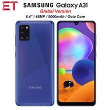 Samsung galaxy a31 a315g/ds da versão global telefone celular 6gb ram 128gb rom octa núcleo 6.4