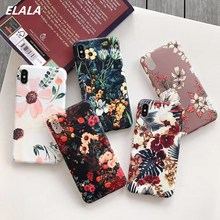 Glossy Marble Case on sFor iPhone XR Case Matte Soft TPU Cover For iPhone 6S 7 8 Plus X Xr Xs Max Texture Full protection Cases