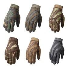Полный палец теплые перчатки охотничьи Тактические нейлоновые перчатки армейские военные боевые страйкбол скалолазание стрельба Пейнтбол
