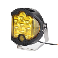 2pcs 7 Inch 90W Round LED Work Light Spot Beam yellow Offroad Driving Light For Jeep ATV 4x4 Truck Tractor Boat Wrangler