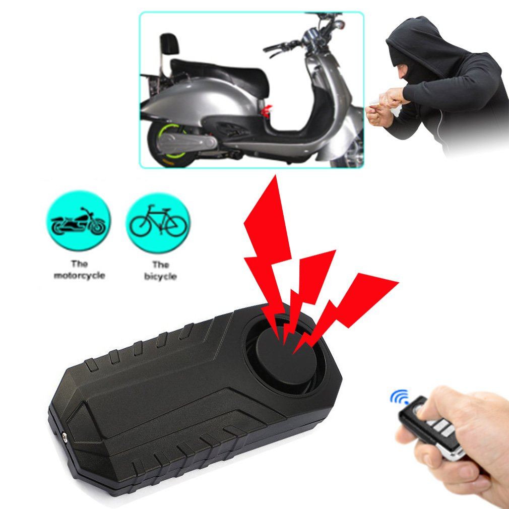Bicycle Rear Light USB Charge Wireless Remote Control Tail Lamp Bike Finder Lantern Horn Siren Warning Anti-theft Alarm 3 In 1