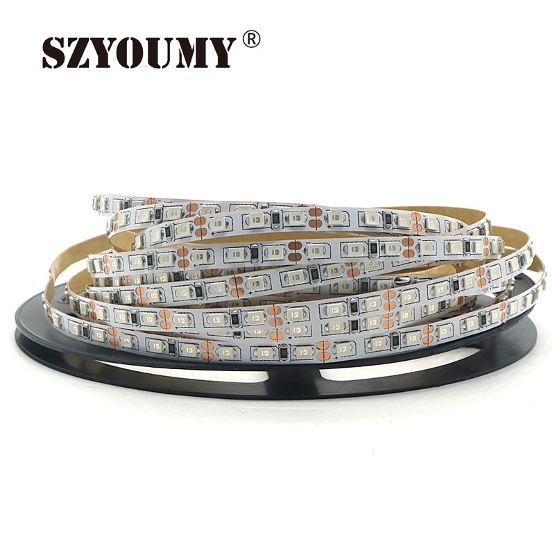 SZYOUMY 500M DC12V 5m 16.4ft 120led/m Narrow PCB <font><b>4mm</b></font> Width 2835 <font><b>SMD</b></font> Flexible Non Waterproof <font><b>Led</b></font> Strip warmwhite image