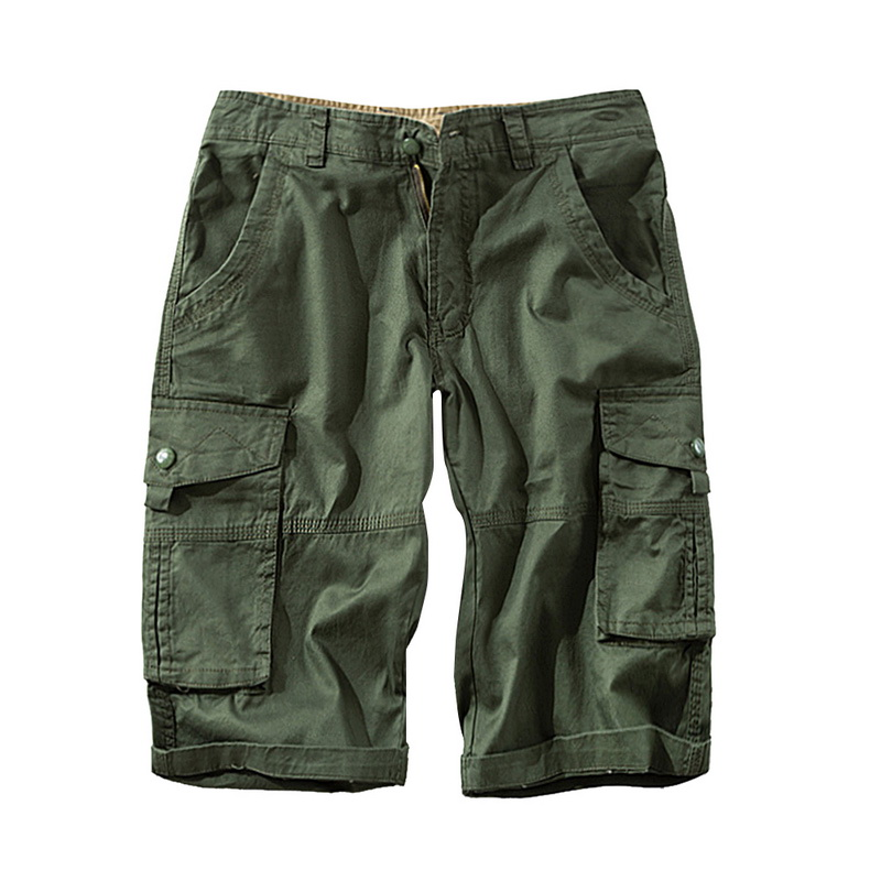 2020 New Men Shorts Casual Loose Shorts Plus Size Fashion Street Wear Solid Men Military Camouflage Summer Men Short