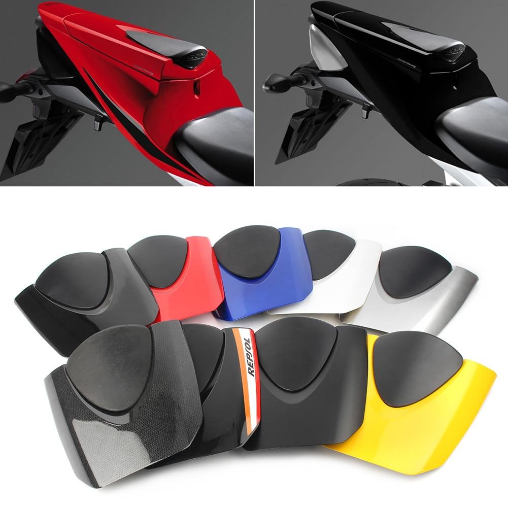 Задняя крышка мотоциклетного заднего пассажирского коврика, обтекатель для заднего сиденья Honda CBR 600RR CBR600RR F5 2007 2008 2009 2010 2011 2012