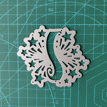 Banner Metal Cutting Dies Stencils Star Decoration For DIY Scrapbooking Photo Album Die Cuts Embossing Paper Cards Crafts Tools square star heart rectangle circle dies frame metal cutting die for diy scrapbooking paper cards die cuts photo album making
