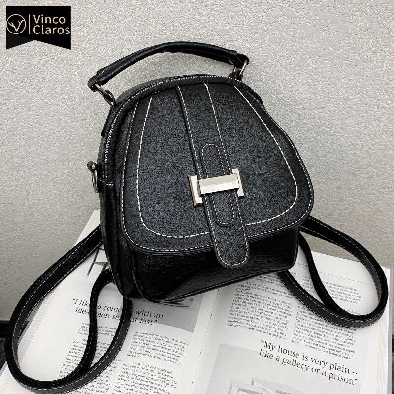 Mini Backpack Women Small PU Leather Back Pack Purse Travel Designer Bags Cute Bolsa Feminina Bolsas De Mujer De Lujo Marcas Sac