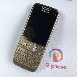 Image 5 - מקורי נוקיה E52 2G 3G סמארטפון נייד טלפון 3MP משופץ נייד & עברית ערבית אנגלית רוסית מקלדת