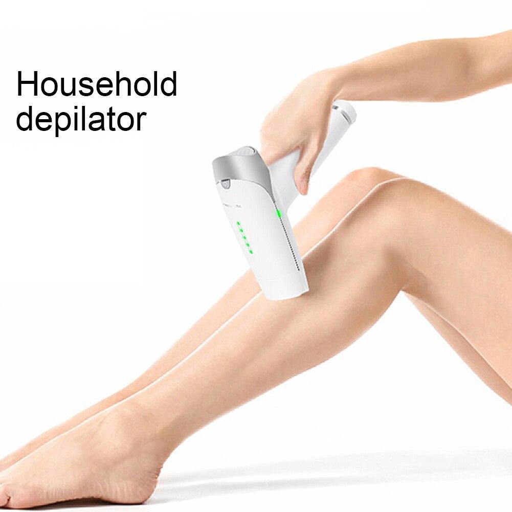 Dispositivo permanente portátil da remoção do cabelo senhoras rosto corpo depilador trimmer confortavelmente fácil de usar sem qualquer dor melhorar os poros - 2