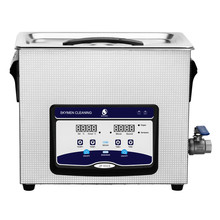 Skymen 6.5L Ultrasonic Cleaner Degas Heating Timer Bath Injector Engine Chain Carbs Auto Parts Lab Tools PCB Cleaning Machine