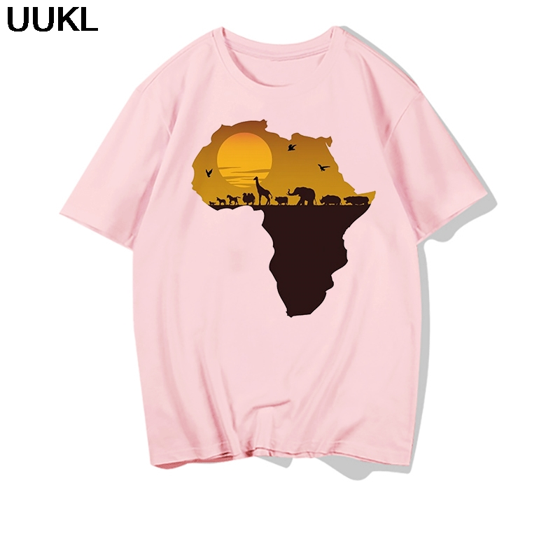 He671bc7aae324579af524bf82484bd85d - Poleras Mujer De Moda Summer Female T-shirt Harajuku Letter African Plate T Shirt Leisure Fashion Tshirt Tops Hipster Shirt