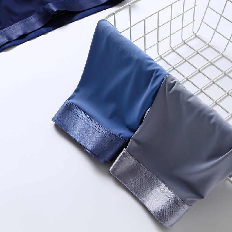Áo Quần Lót Boxer Bộ 4 Nylon Nam Võ Sĩ Spandex Chất Lượng 3D Đáy Quần Boxer Không Đường May Quần Short Nam