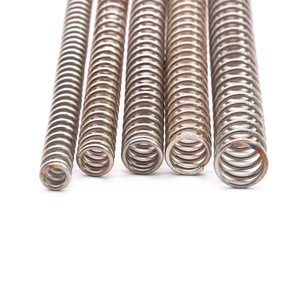 1 шт. диаметр проволоки 2 мм Y Тип сжатой пружины 304 нержавеющая сталь длина пружины сжатия 305 мм