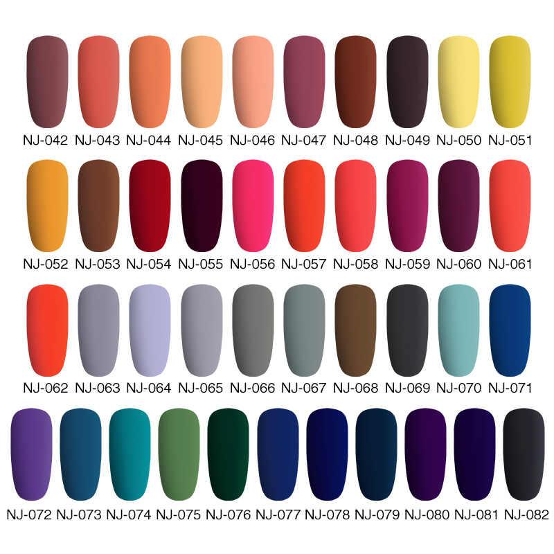 NEE JOLIE, 60 colores, estera de Color sólido, esmalte de uñas, Color rosa, arte de uñas, barniz oleoso DIY