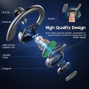 Image 3 - TWS Bluetooth 5.0หูฟังไมโครโฟนหูฟังLEDจอแสดงผลไร้สายHiFiสเตอริโอหูฟังกันน้ำชุดหูฟัง