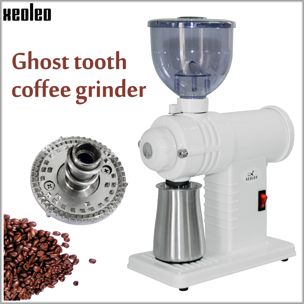 Xeoleo Electric Coffee Grinder Coffee Mill Household Coffee Bean Milling Machine Grinding Machine 220V 1~8 Gears Adjustable