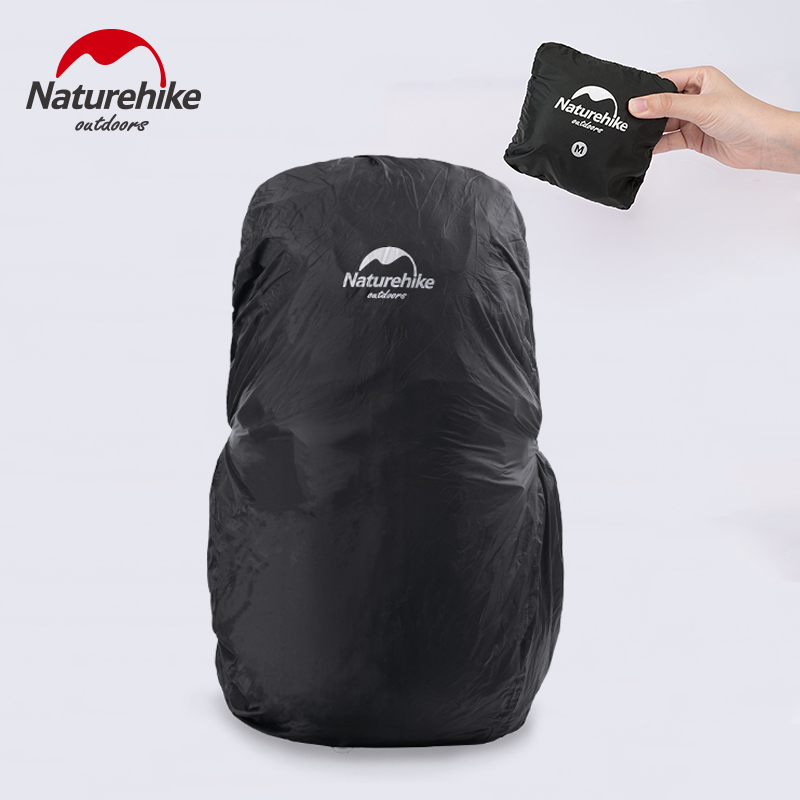 NatureHike Backpack Rain Cover Waterproof Rating 2000mm, Anti-Slip Durable Adjustment Buckle Strap, Integrated Carry Pouch