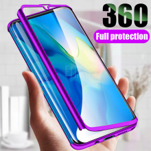 360 Protective case For Huawei P20 Lite P30 Pro P10 Mate 20 10 Lite 20X P Smart 2019 Phone Case For honor 20 8x 9 10 Lite cover(China)