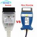 Лучшее качество полный чип для BMW INPA K DCAN + может чип FTDI USB диагностический Интерфейс совместим с INPA для BMW серий нового дизайна