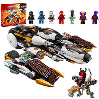 New 1146pcs Stealth Raider Building Blocks Compatible with lepining Ninjagoes 70595 Building Blocks Kids Toy Gift