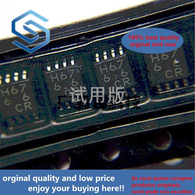 10pcs 100% Orginal New BH6766FVM-GTR 5V Single Phase Full Wave Fan Motor Driver IC SMD MSOP-8