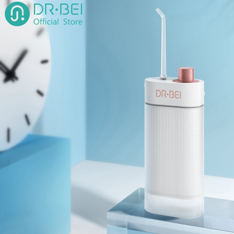 DR.BEI Oral Irrigator Dental Water Flosser Jet Portable Cordless Teeth Cleaning Rechargeable Travel Tooth Cleaner F3 Xiami Xiomi