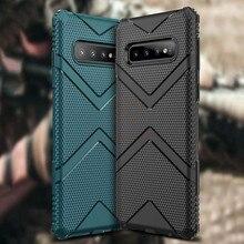 Hacrin Case For Samsung Galaxy S10 Plus Full Protection Hard TPU Armor Bumper Cover S10e
