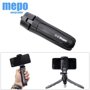 Mini Tabletop Tripod Phone Bracket Camera Tripod Portable Foldable w/ 1/4 Mounting Screw for Gopro 9 8 7 DSLR LED Video Light image
