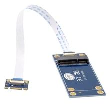 HOT-50Mm Mini Pci-E 52Pin Msata Ssd To M.2 Ngff B-Key Add on Card Pcba