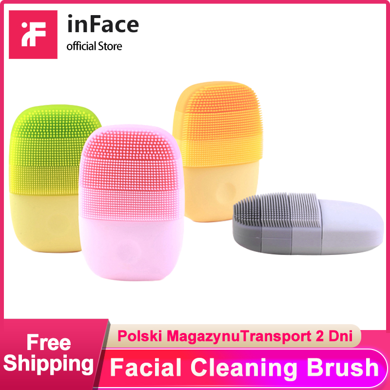 Inface Supply-Chain Cleanser Facial-Cleaning-Brush Mijia Electric-Sonic Offical Xiaomi title=