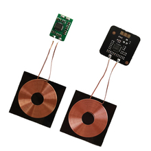 DYKB 5V 0.6A 3W Qi Wireless Charger PCBA Circuit Board Receiver Module + Coil Charging Universal pat