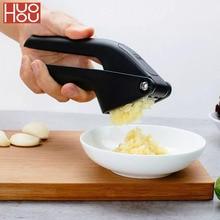 HUOHOU מטבח שום פרסר מדריך שום מגרסה Micer חותך לסחוט כלי כלי פירות וירקות מטבח כלי