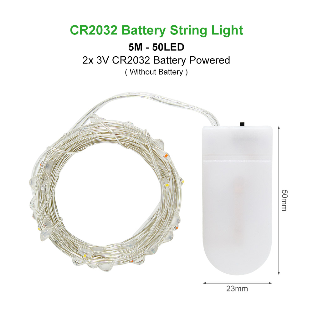 5M by CR2032 Battery