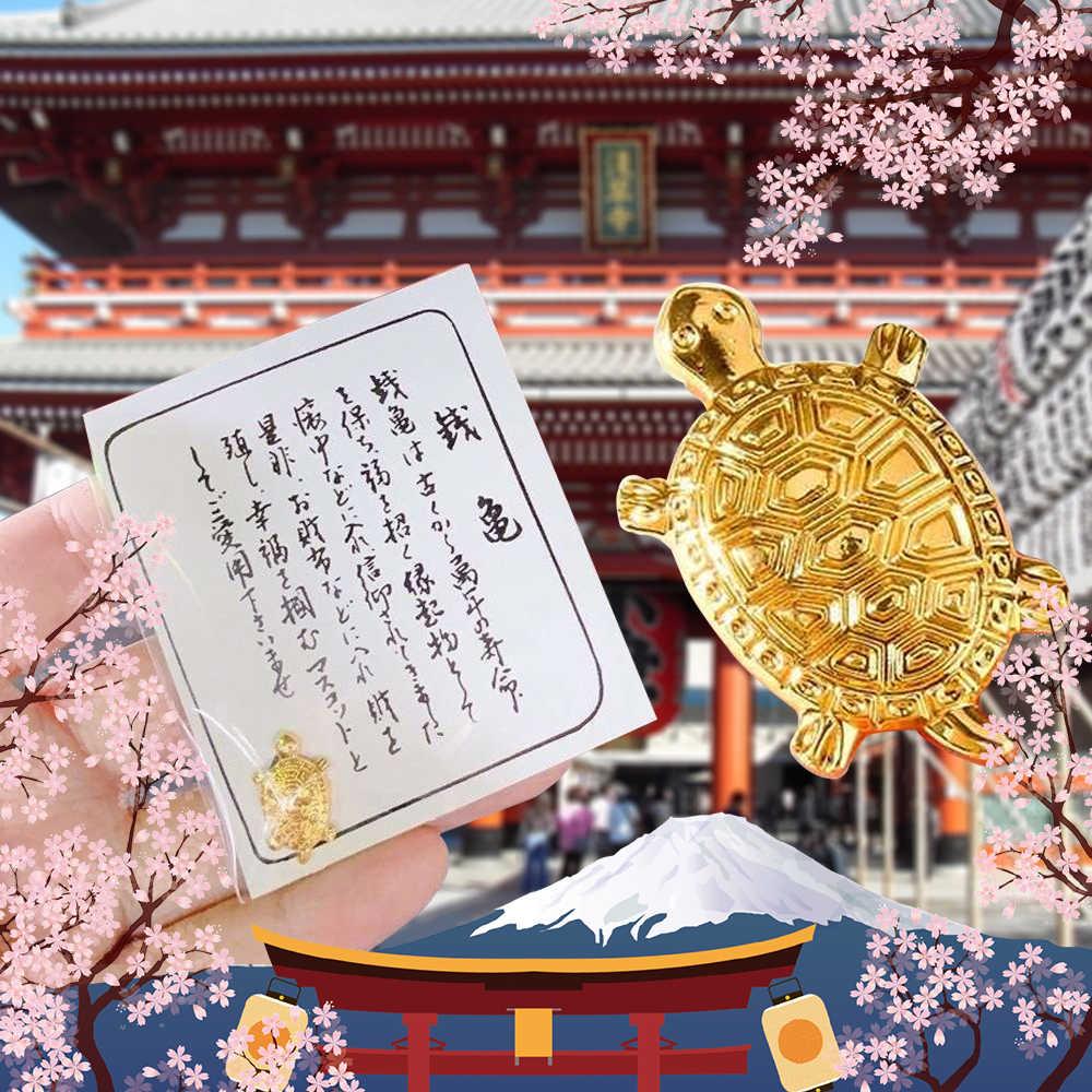 風水風水ゴールデンマネーカメ富日本ホームオフィスの装飾卓上装飾品ラッキーギフトガード祈る幸運ツール