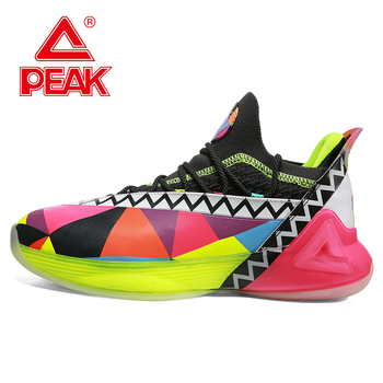 basketball shoes men s shoes discount parker ii tp9 signature boots spring breathable sports shoes e44323a peak PEAK TONY PARKER 7 Basketball Shoes Men Professional Basketball Sneakers PEAK TAICHI Cushioning Adaptive Fashion Sports Shoes