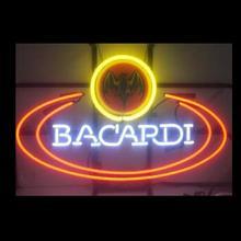 Custom BACARDI Glass Neon Light Sign Beer Bar