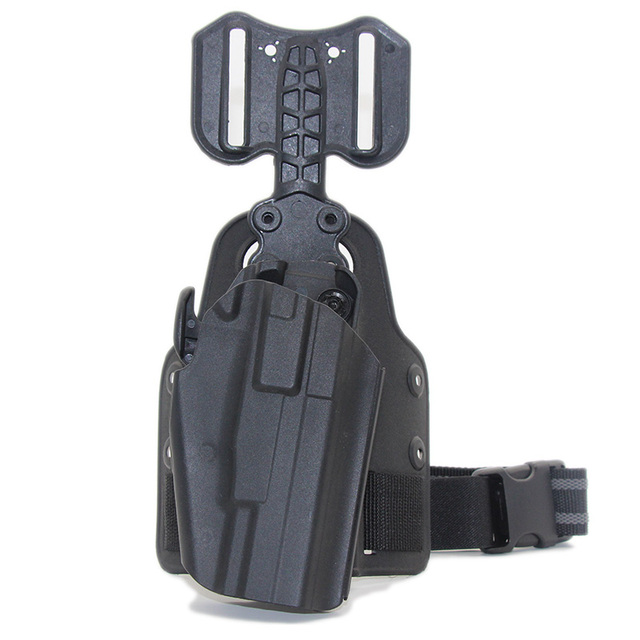 Tactical Drop Leg Gun Holster for BERETTA M92 Glock 17 19 CZ75 TAURUS PT840 HK USP SIG SAUER 226 Holster Pistol Airsoft Platform 3