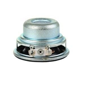 Image 5 - Tenghong 2 stücke 36MM Mini Tragbare Audio Full Palette Lautsprecher 16 Core 4Ohm 3W PU Seite Lautsprecher DIY heimkino Sound System