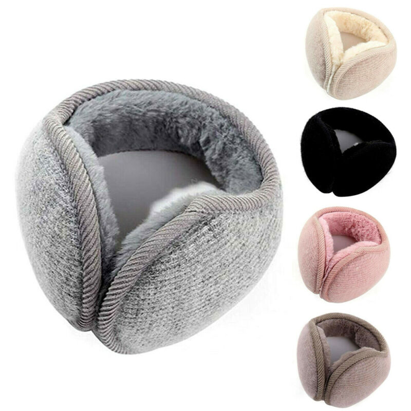 Fashion Winter Women Ear Earmuffs Bandless Fleece Ear Outdoors Warm Warmers Men Ear Cap Protect Ears Accessories