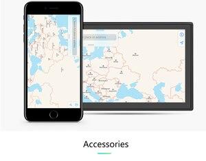 """Image 2 - Автомобильный мультимедийный плеер, Android 2 din, радио, встроенный с сенсорным экраном, FM, DAB, BT, GPS, Wi Fi, без DVD, 7 """"HD, автомобильная аудионавигация, 2DIN"""