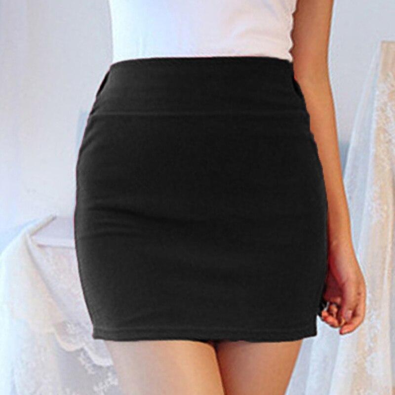 2020 Summer New Skirts Women Ladies Slim Fit Upper Thigh Length Mini Skirt Fashion A-line Short Dress High Quality