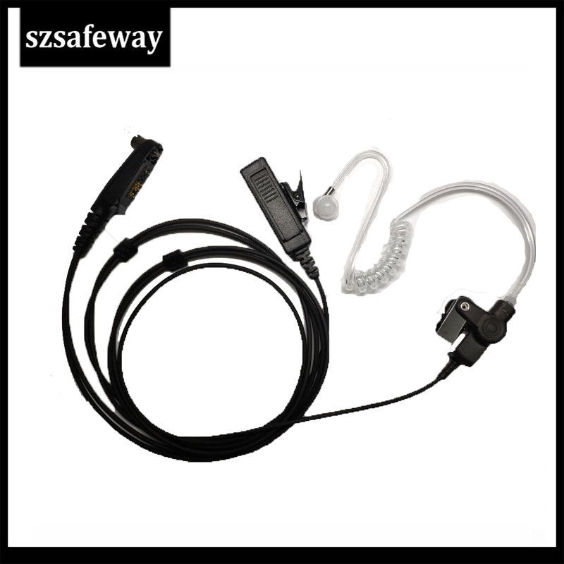 Two Way Radio Acoustic Tube Earphone Surveillane Kit Headset For Hytera HYT Handheld Radio TC-780 TC-610P TC-3000 TC-3600