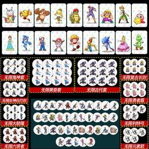 Переключатель для navd Amiibo Animal Crossing, Amiibo Card, Zelda, воздухопроницаемость дикого сердца, волка, Одиссея, брызговик, Марио, NCF, Amiibo