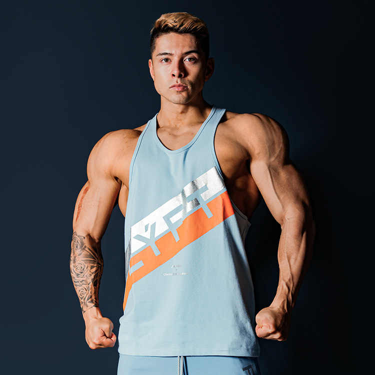 Mens Tank Tops Shirts Summer 3D Printed Vest Mens Athletic Training Gym Tank Top Sleeveless Vest Comfort Blouse Top Running Fitness T Shirt Quick-Dry Sports Singlet Blouse Bodybuilding Tank