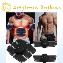 sport abdominaux Abdominal Body Massage Slimming Patch Electronic Vibration Massager USB Rechargeable