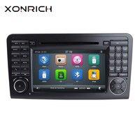 AutoRadio 2 Din Car DVD Player For Mercedes Benz ML W164 X164 GL ML350 ML500 GL320 Multimedia Head Unit GPS navigation Stereo 3G